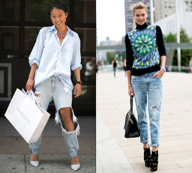 RIPPED JEANS: enter to chic territory | FASHION TREND OVERVIEW